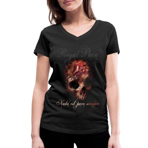 Para siempre - Frauen Bio-T-Shirt mit V-Ausschnitt von Stanley & Stella