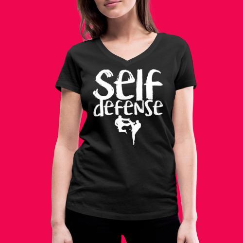 Self Defense 1.0 - Frauen Bio-T-Shirt mit V-Ausschnitt von Stanley & Stella