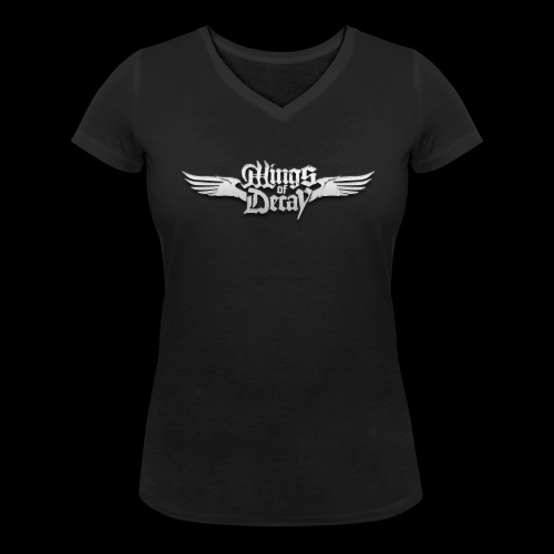 Wings of Decay Shop - T-shirt bio col V Stanley & Stella Femme