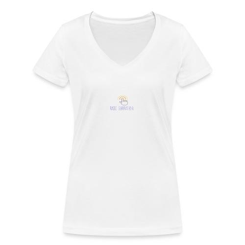 GADGET RADIO GIARRATAnNA - T-shirt ecologica da donna con scollo a V di Stanley & Stella
