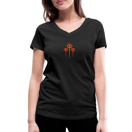 Moskitos - Frauen Bio-T-Shirt mit V-Ausschnitt von Stanley & Stella