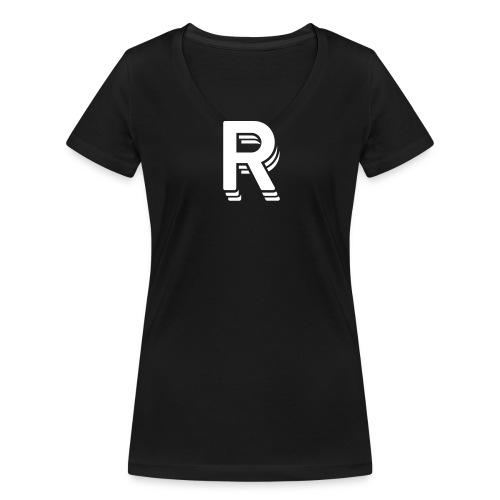 noch ein test lol - Frauen Bio-T-Shirt mit V-Ausschnitt von Stanley & Stella