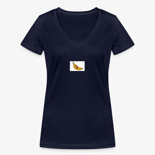 Bananana splidt - Økologisk Stanley & Stella T-shirt med V-udskæring til damer