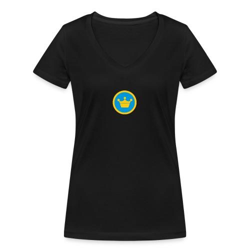 foursquare supermayor - Camiseta ecológica mujer con cuello de pico de Stanley & Stella