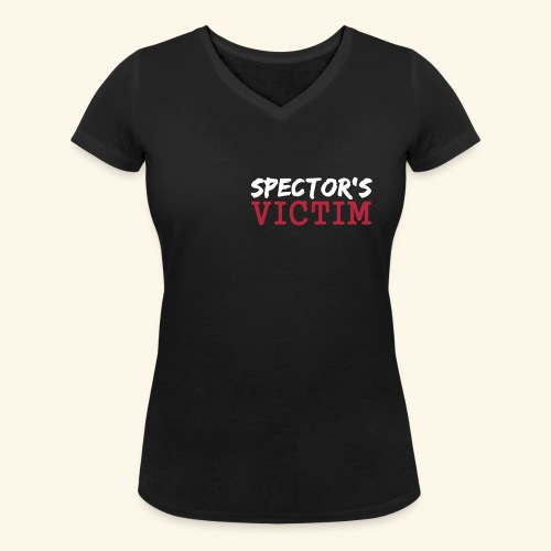 Spector s Victim - Women's Organic V-Neck T-Shirt by Stanley & Stella