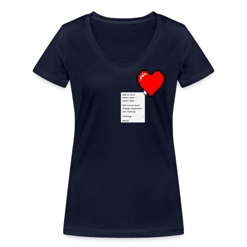 Options of the heart - Økologisk Stanley & Stella T-shirt med V-udskæring til damer