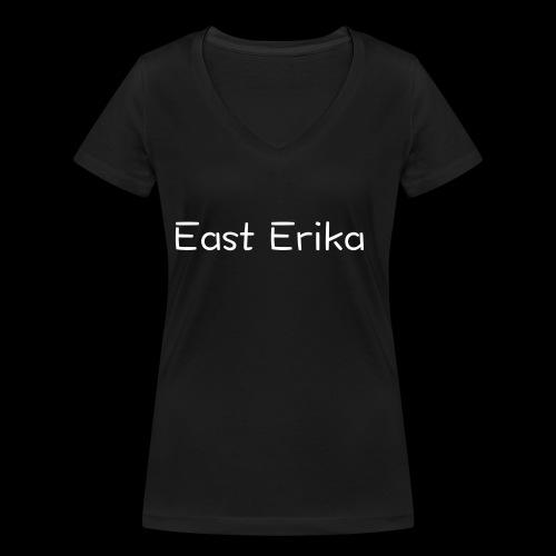 East Erika logo - T-shirt ecologica da donna con scollo a V di Stanley & Stella
