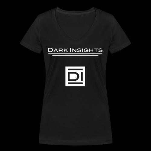 Dark Insights Logo - Women's Organic V-Neck T-Shirt by Stanley & Stella