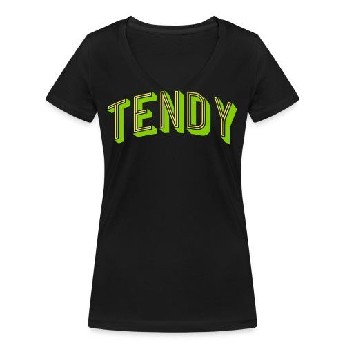 Hockey Goaltender - Tendy - Women's Organic V-Neck T-Shirt by Stanley & Stella