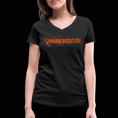Manchester - T-shirt bio col V Stanley & Stella Femme
