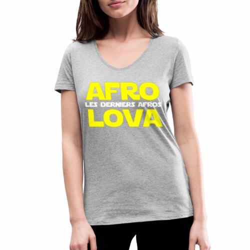les derniers afros - T-shirt bio col V Stanley & Stella Femme