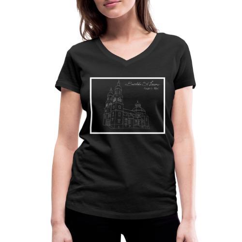 T Shirt Basilika St Lorenz Kempten Allgaeu - Frauen Bio-T-Shirt mit V-Ausschnitt von Stanley & Stella