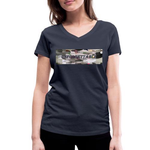 unforgettable - T-shirt bio col V Stanley & Stella Femme