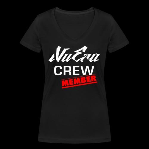 NuEra Crew Logo 2018 - Frauen Bio-T-Shirt mit V-Ausschnitt von Stanley & Stella