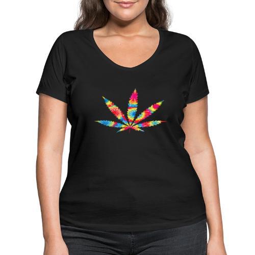 wiet spacy - Vrouwen bio T-shirt met V-hals van Stanley & Stella