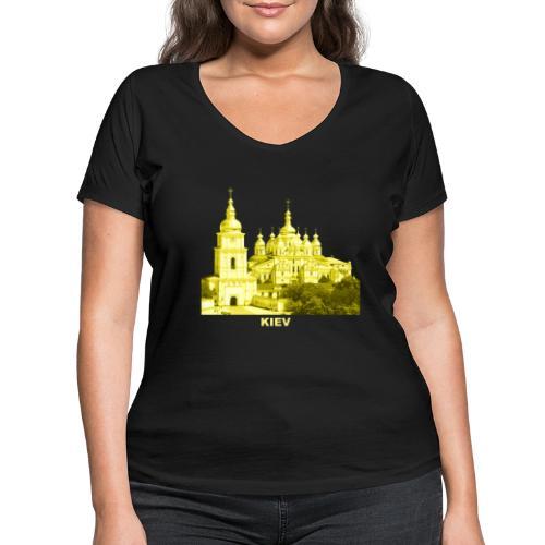 Kiev Kiew Ukraine Sophienkathedrale Kirche - Frauen Bio-T-Shirt mit V-Ausschnitt von Stanley & Stella