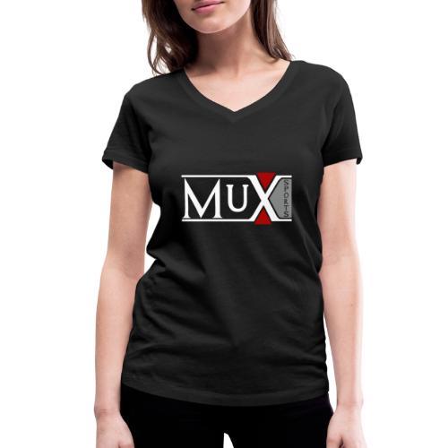 Mux Sport Street- and Sportswear - Frauen Bio-T-Shirt mit V-Ausschnitt von Stanley & Stella