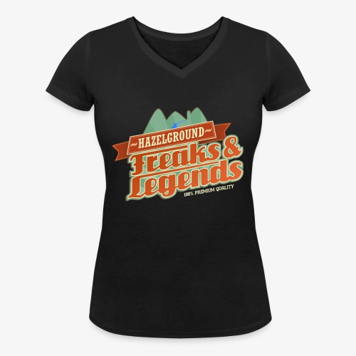 Freaks Legends 2 - Frauen Bio-T-Shirt mit V-Ausschnitt von Stanley & Stella
