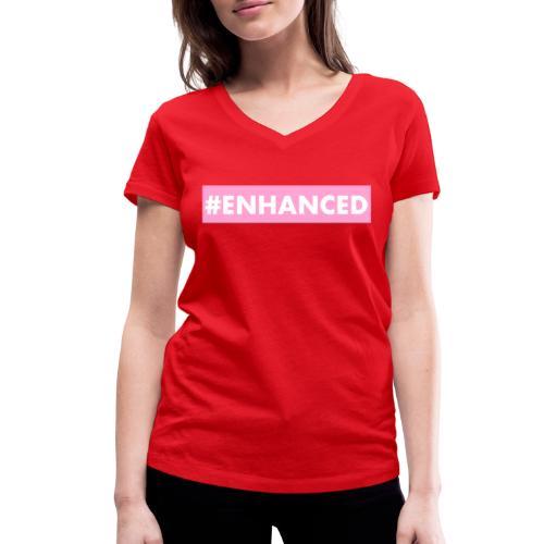 ENHANCED BOX - Women's Organic V-Neck T-Shirt by Stanley & Stella