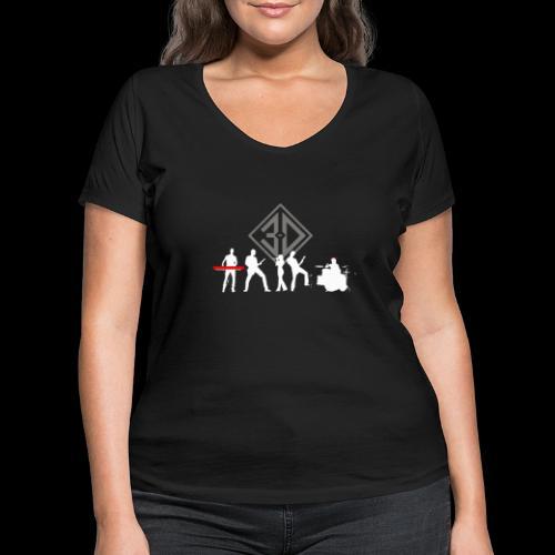 3D 2020 - T-shirt bio col V Stanley & Stella Femme