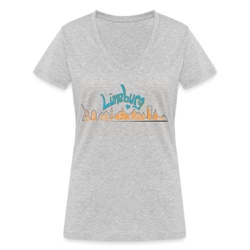 Lüneburg Design by deisoldphotodesign - Frauen Bio-T-Shirt mit V-Ausschnitt von Stanley & Stella