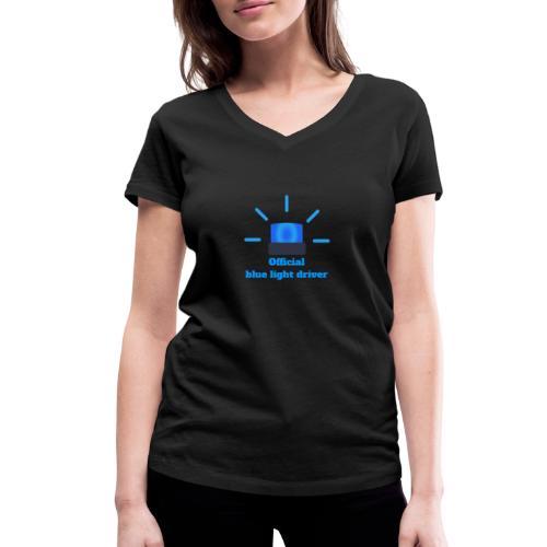 Blue light driver - Frauen Bio-T-Shirt mit V-Ausschnitt von Stanley & Stella