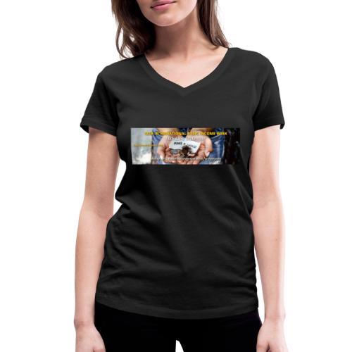 BIW-Cover - Vrouwen bio T-shirt met V-hals van Stanley & Stella