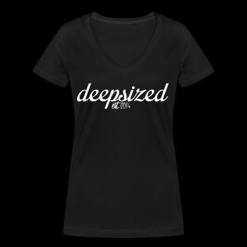 deepsized weiß gif - Frauen Bio-T-Shirt mit V-Ausschnitt von Stanley & Stella