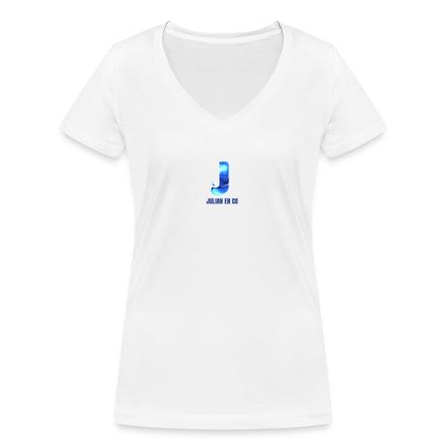 JULIAN EN CO MERCH - Vrouwen bio T-shirt met V-hals van Stanley & Stella