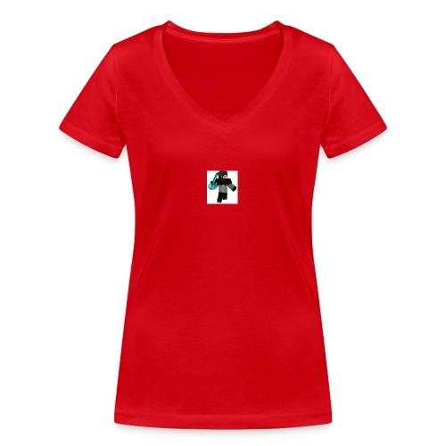 ramera - Camiseta ecológica mujer con cuello de pico de Stanley & Stella
