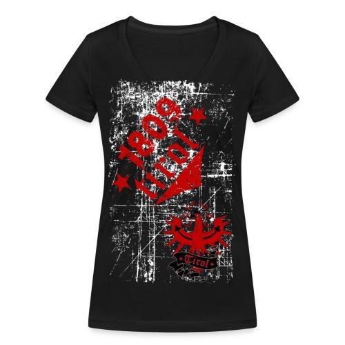 Tirol - Frauen Bio-T-Shirt mit V-Ausschnitt von Stanley & Stella