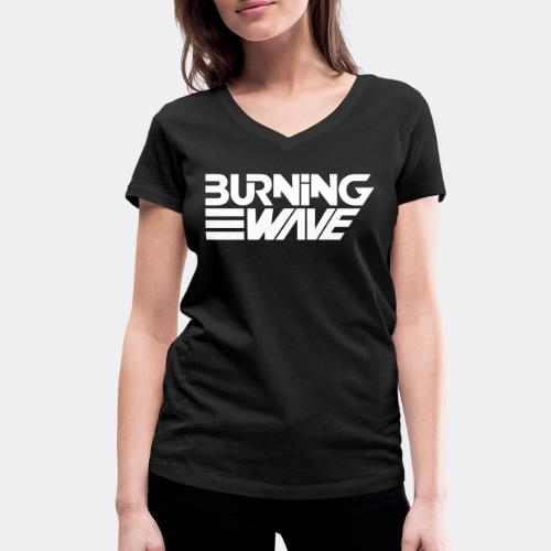 Burning Wave Block - T-shirt bio col V Stanley & Stella Femme