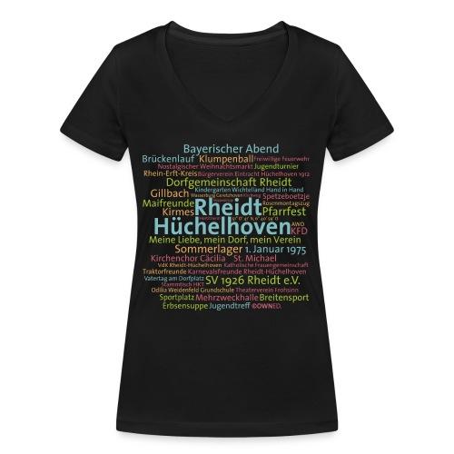 cloud rheidt huechelhoven - Frauen Bio-T-Shirt mit V-Ausschnitt von Stanley & Stella