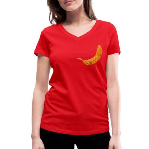 Dots Banane - Frauen Bio-T-Shirt mit V-Ausschnitt von Stanley & Stella
