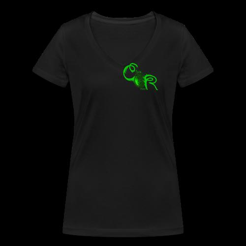 ChaosRoom Logo17 - Frauen Bio-T-Shirt mit V-Ausschnitt von Stanley & Stella