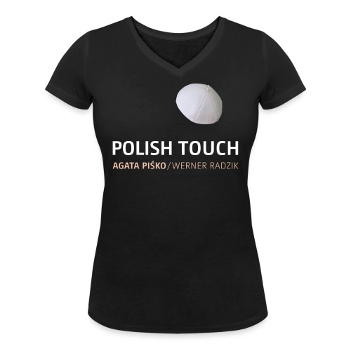 POLISH TOUCH Shirt-2 - Frauen Bio-T-Shirt mit V-Ausschnitt von Stanley & Stella