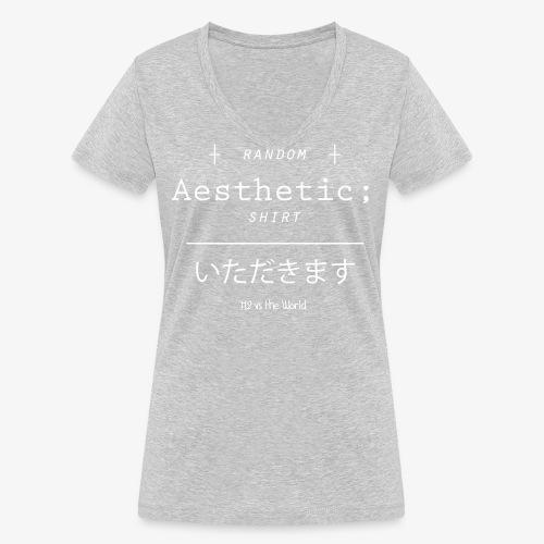 Random Aesthetic - T-shirt ecologica da donna con scollo a V di Stanley & Stella