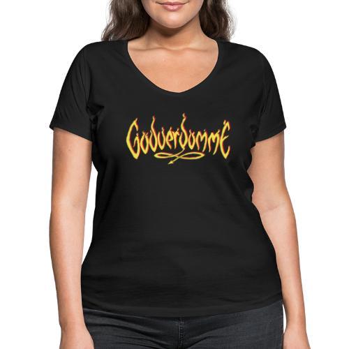 godverdomme - T-shirt bio col V Stanley & Stella Femme