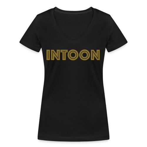 Intoon Logo - Frauen Bio-T-Shirt mit V-Ausschnitt von Stanley & Stella