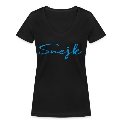 Snejk - Ekologisk T-shirt med V-ringning dam från Stanley & Stella