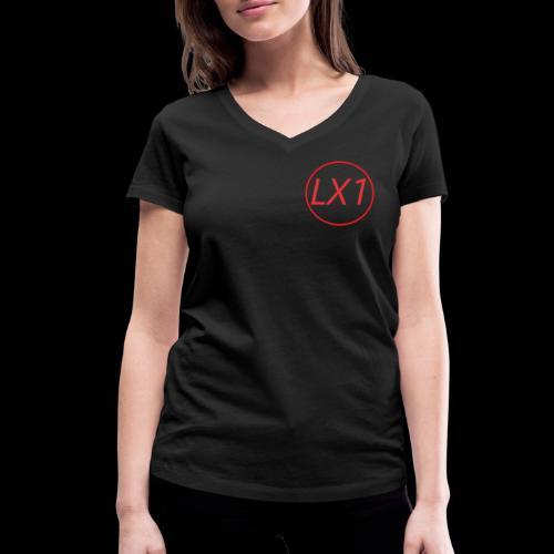 WilleLX1 Logo - Ekologisk T-shirt med V-ringning dam från Stanley & Stella