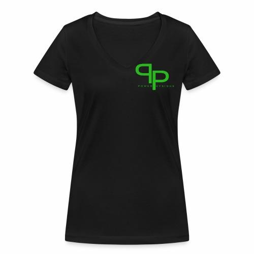 groen png - Vrouwen bio T-shirt met V-hals van Stanley & Stella