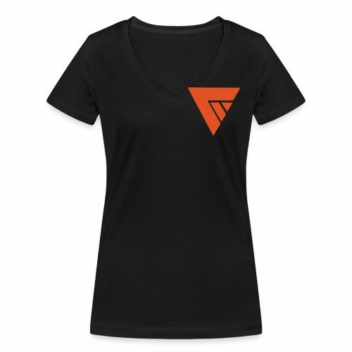 Logo Team Mutation - T-shirt bio col V Stanley & Stella Femme