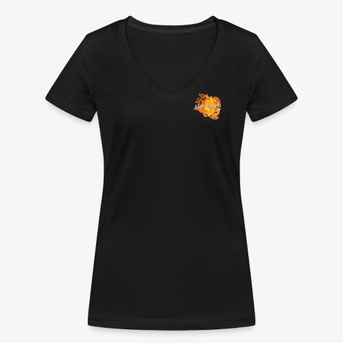 NeverLand Fire - Vrouwen bio T-shirt met V-hals van Stanley & Stella