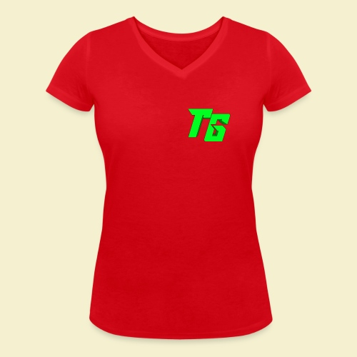 TristanGames logo merchandise - Vrouwen bio T-shirt met V-hals van Stanley & Stella