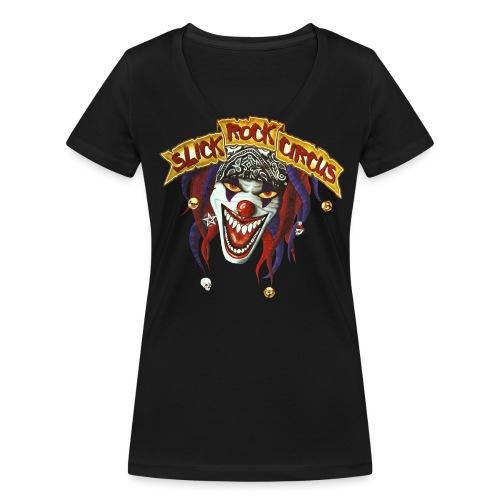 Evil Clown Only! - Frauen Bio-T-Shirt mit V-Ausschnitt von Stanley & Stella