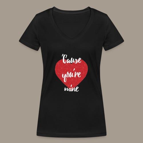 MINE - T-shirt bio col V Stanley & Stella Femme
