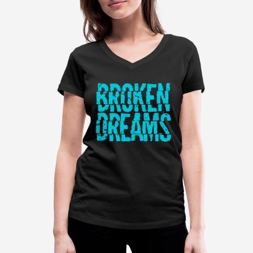 geplatzte Träume - Frauen Bio-T-Shirt mit V-Ausschnitt von Stanley & Stella