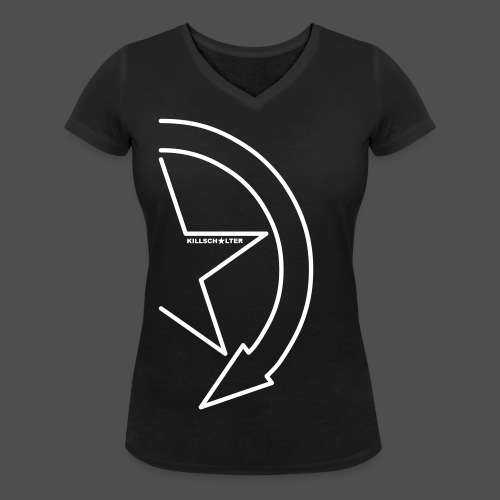 Brand Logo 1/2 we - Women's Organic V-Neck T-Shirt by Stanley & Stella