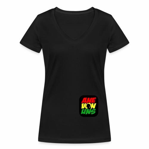 Ane Von Uns - Frauen Bio-T-Shirt mit V-Ausschnitt von Stanley & Stella